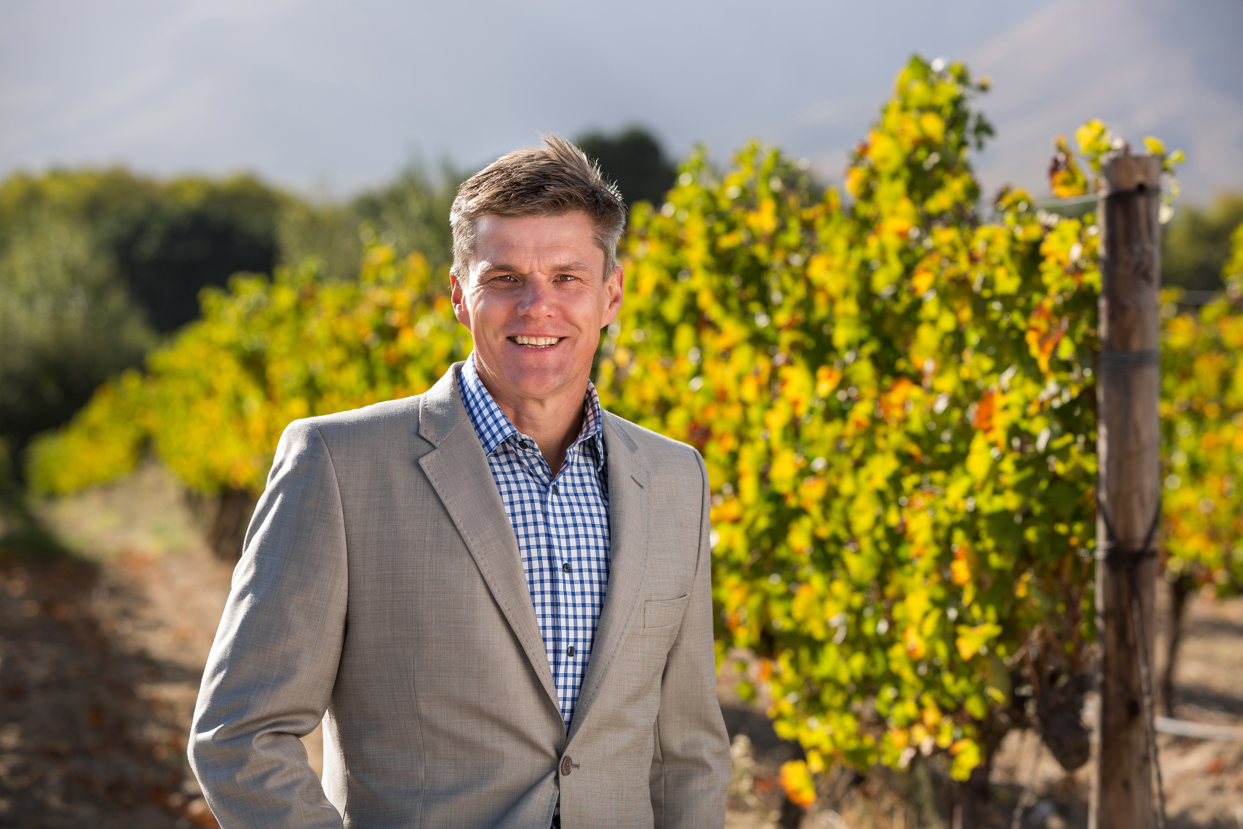 Rico Basson, MD of VinPro