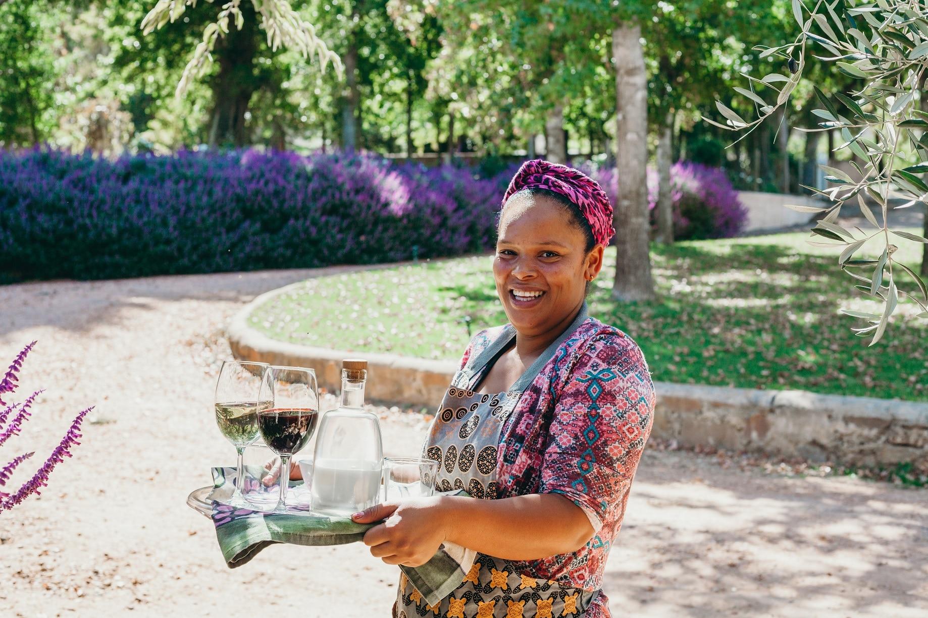 Klein Karoo hospitality at Joubert-Tradauw Wines.