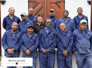 Botha Cellar – exposure and continuous transfer of knowledge make a difference