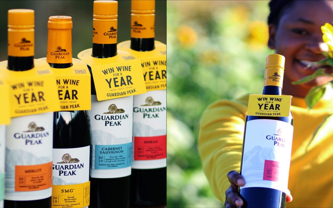 WIN wine for a year with Guardian Peak