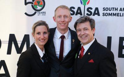 Wikus Human wins 'Best Sommelier in South Africa' 2021